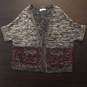 Zara Knit Short Sleeve Cardigan